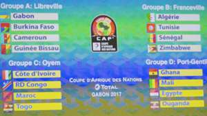 Africa Cup of Nations draw