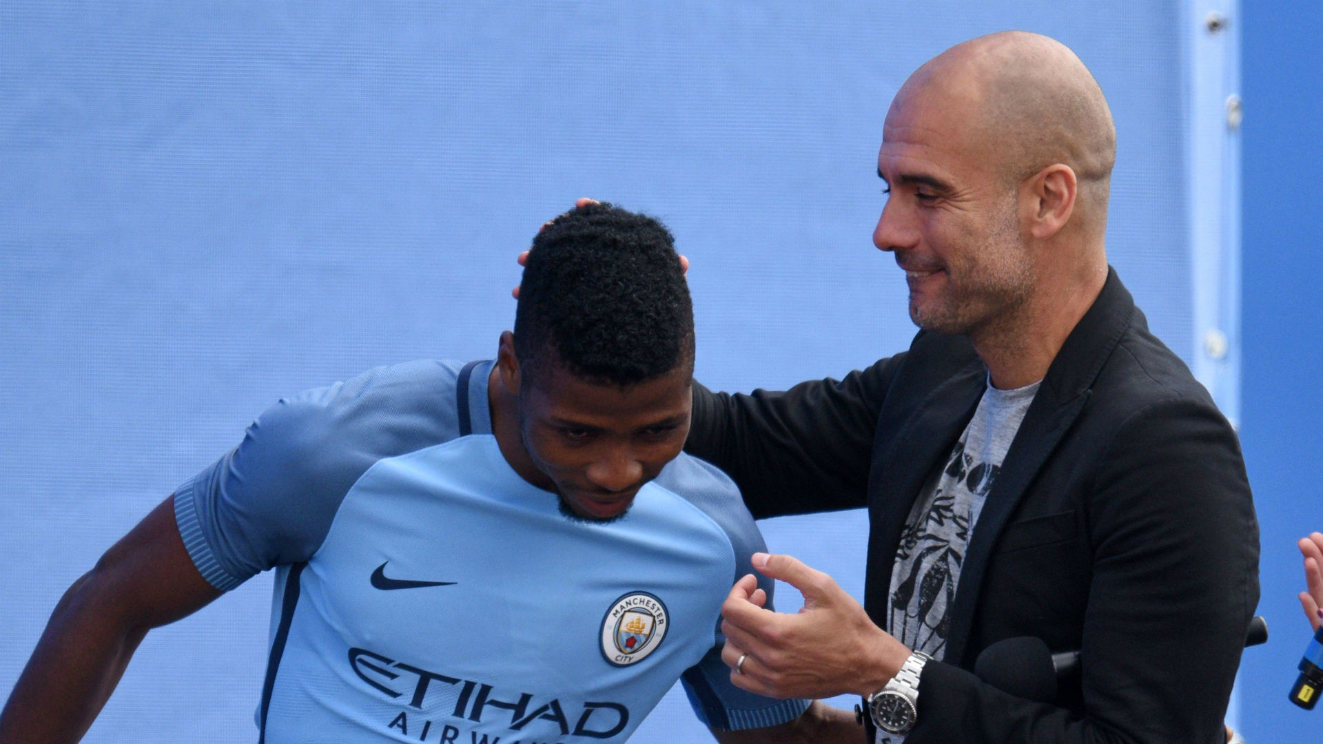 Iheanacho and Guardiola