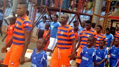Sunshine Stars file out against Giwa