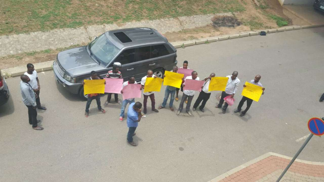 Pinnick must go protests