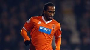 Nathan Delfouneso of Blackpool