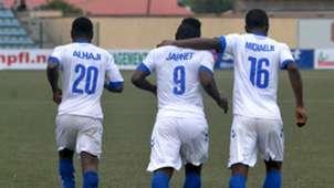 El Kanemi Warriors celebrate gooal against MFM FC 13032016