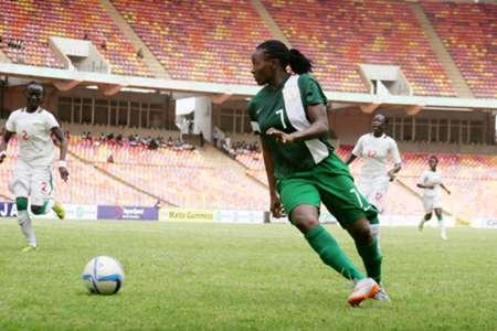 Nigeria Women vs Senegal Women (Super Falcons) 12042016