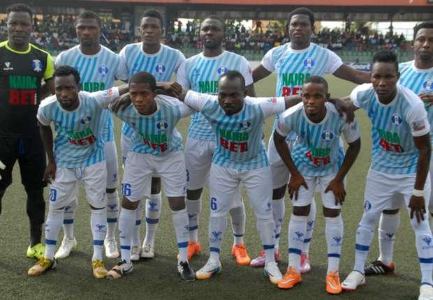 Shooting Stars' Adetunji Sunday shocked by collapse against Ifeanyi Ubah.