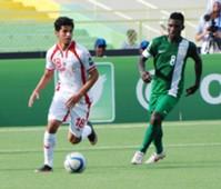 Saad Dguir, Ifeanyi Matthew Tunisia vs Nigeria, CHAN 2016