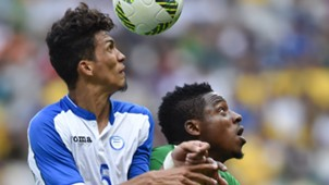 Kingsley Madu of Nigeria and Allans Vargas of Honduras