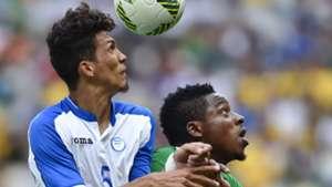 Kingsley Madu of Nigeria and Allans Vargas of Honduras
