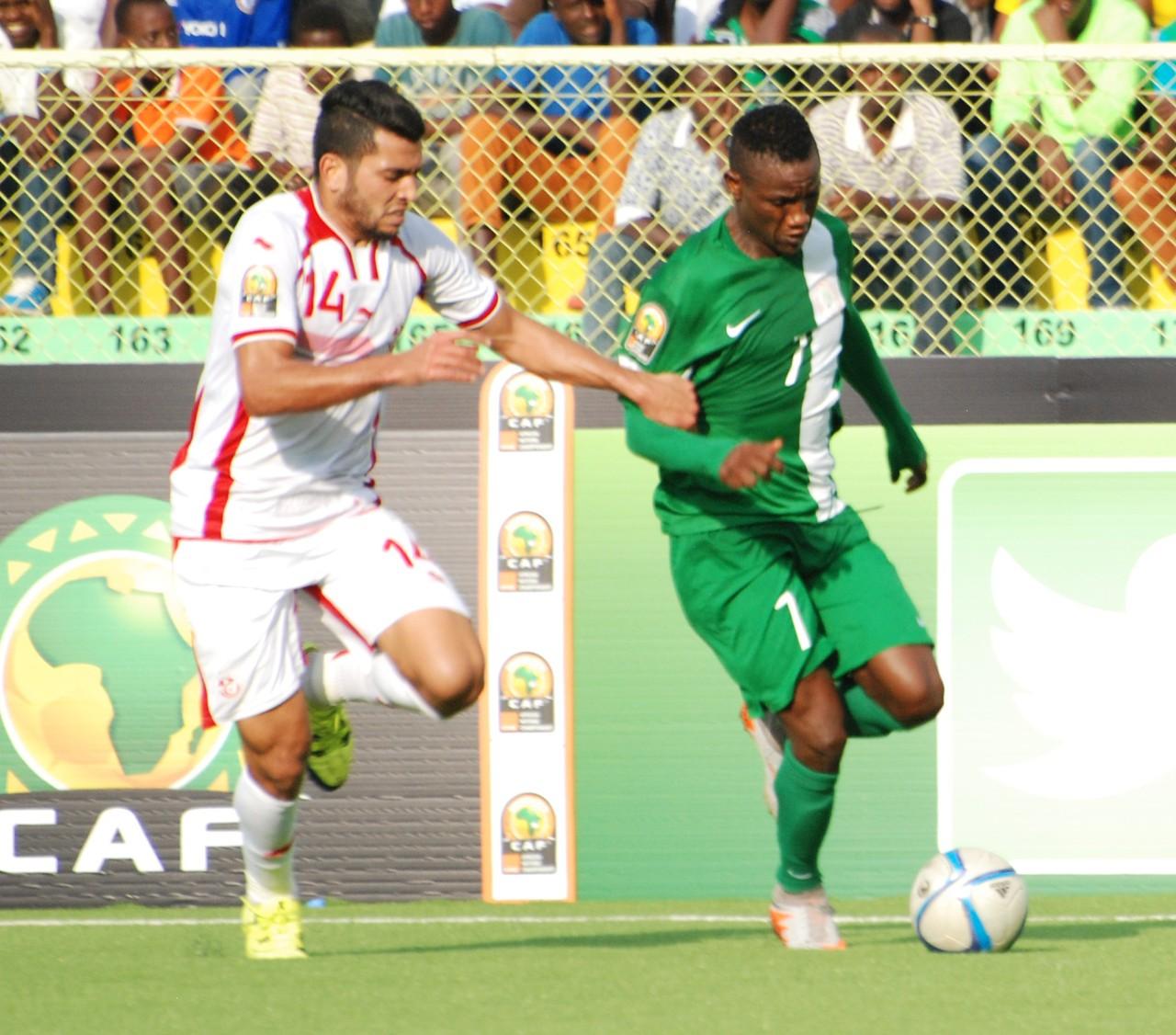 Ben Amor, Prince Aggreh Tunisia vs Nigeria, CHAN 2016