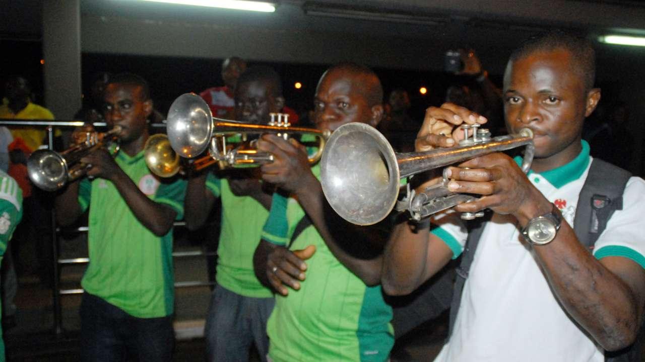 Nigeria U23 arrive