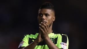 Elias Kachunga of Huddersfield Town