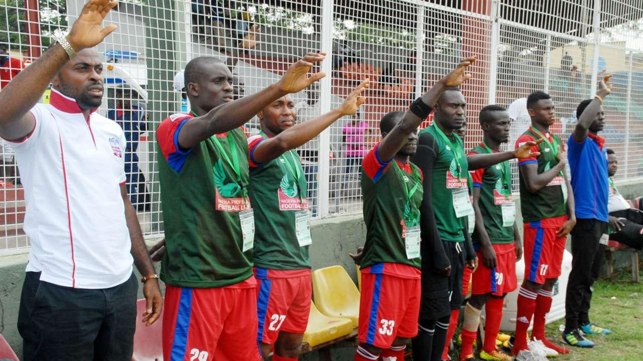 Ikorodu United bench