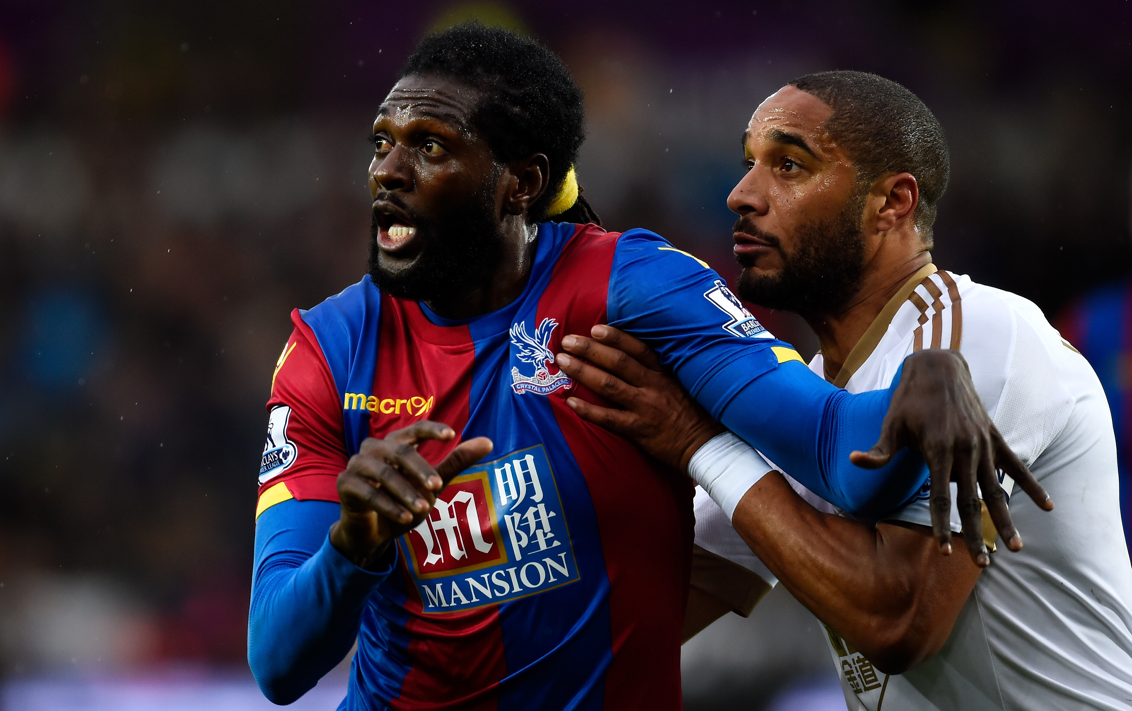 'He would sit in the gym eating a muffin' - Hangeland questions attitude of 'lazy' Adebayor
