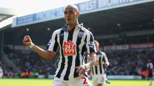 Peter Odemwingie West Bromwich Albion April 2011