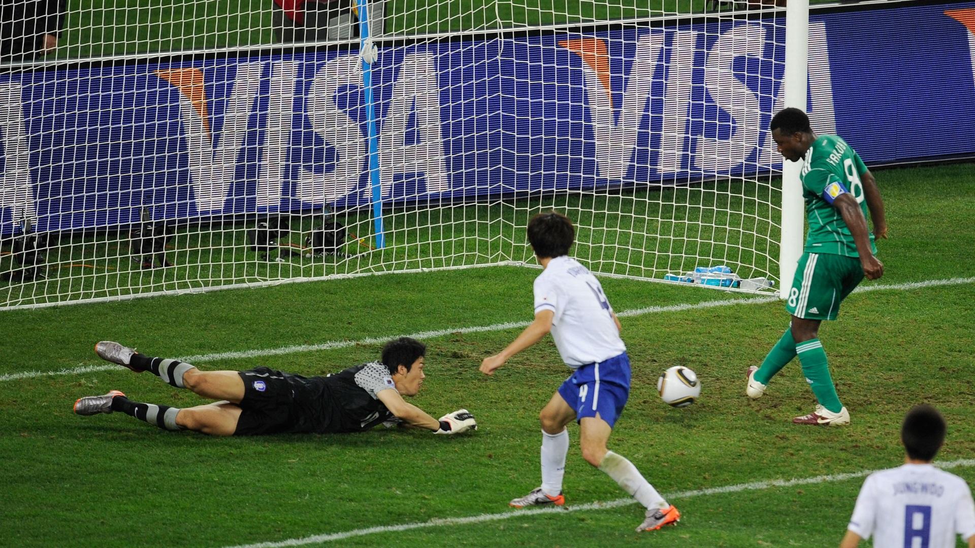 Yakubu miss vs. South Korea