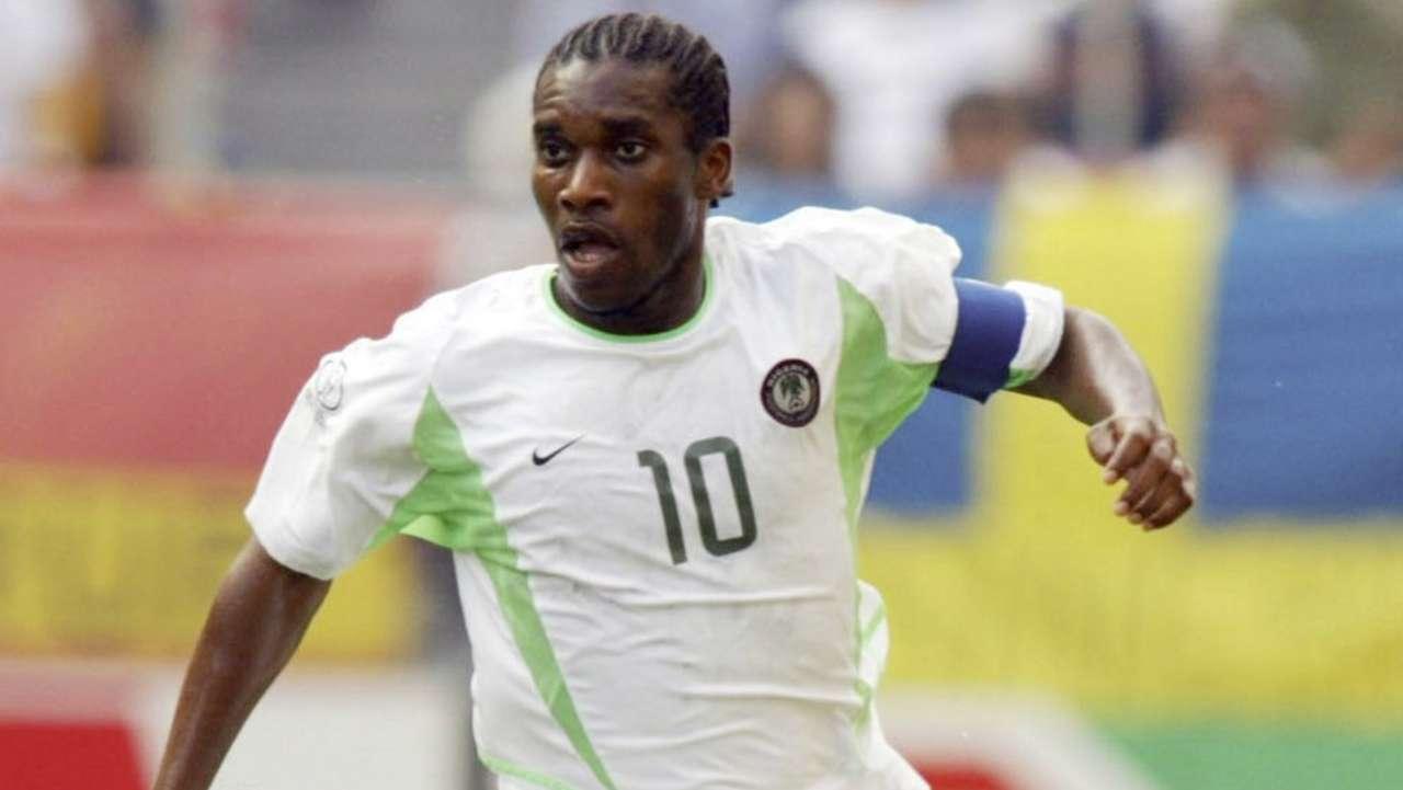 Jay-Jay Okocha of Nigeria