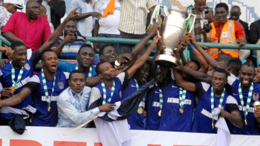 Akwa United, Federation Cup 2015 winners