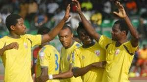 Heartland celebrate goal vs Ikorodu United