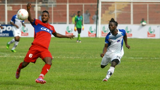 Monsuru Rafiu, Ikorodu United - Sunday Enweche, Lobi Stars