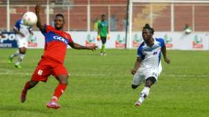Monsuru Rafiu, Ikorodu United - Sunday Enweche, Lobi Stars