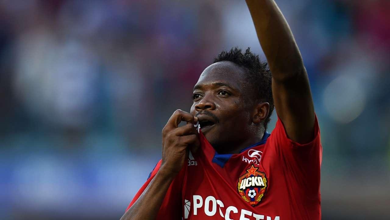 Ahmed Musa of CSKA Moscow