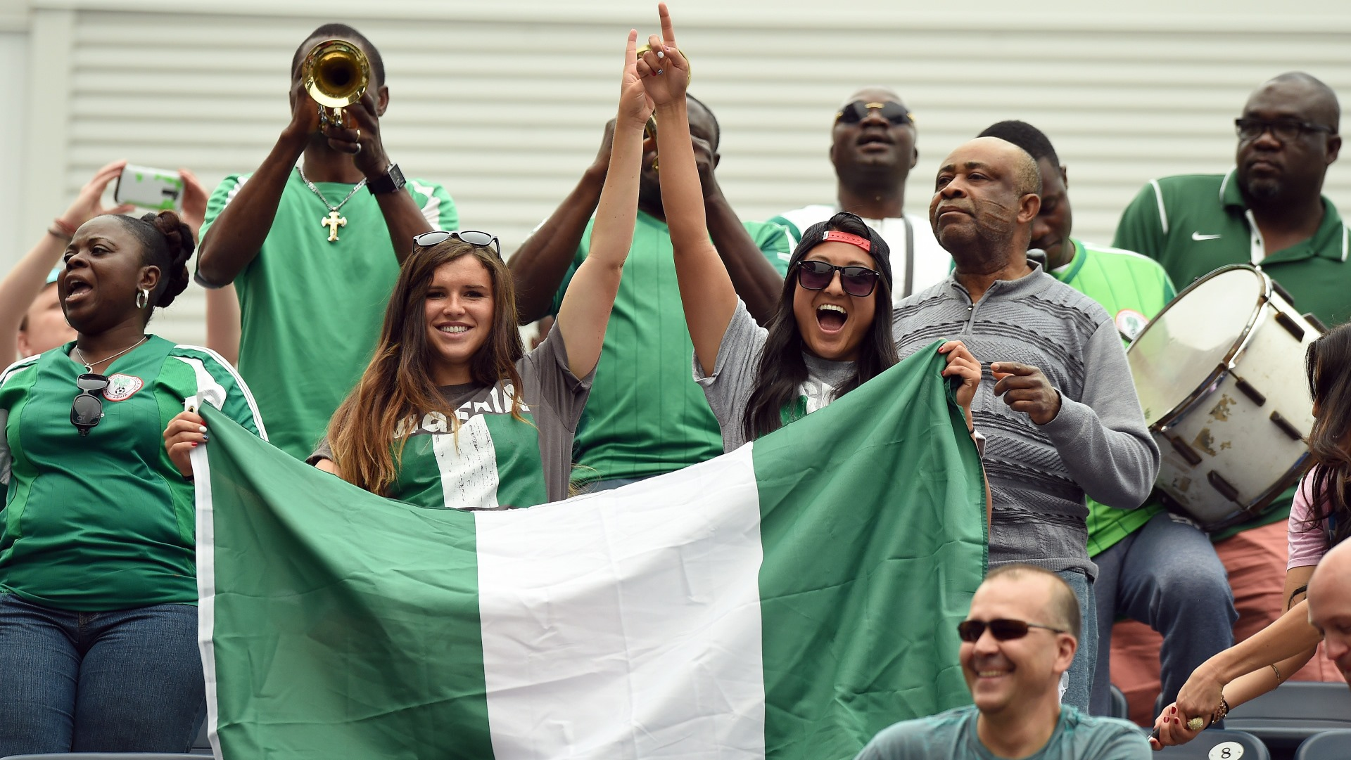 Nigeria fans in Winnipeg