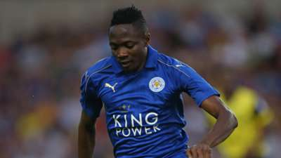 Ahmed Musa of Leicester
