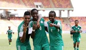 Desire Oparanozie, Asisat Oshoala & Ngozi Okobi