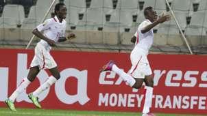 Alain Traore celebrates - Afcon 2013