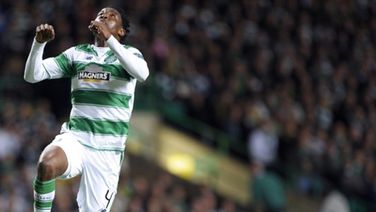 Efe Ambrose of Celtic