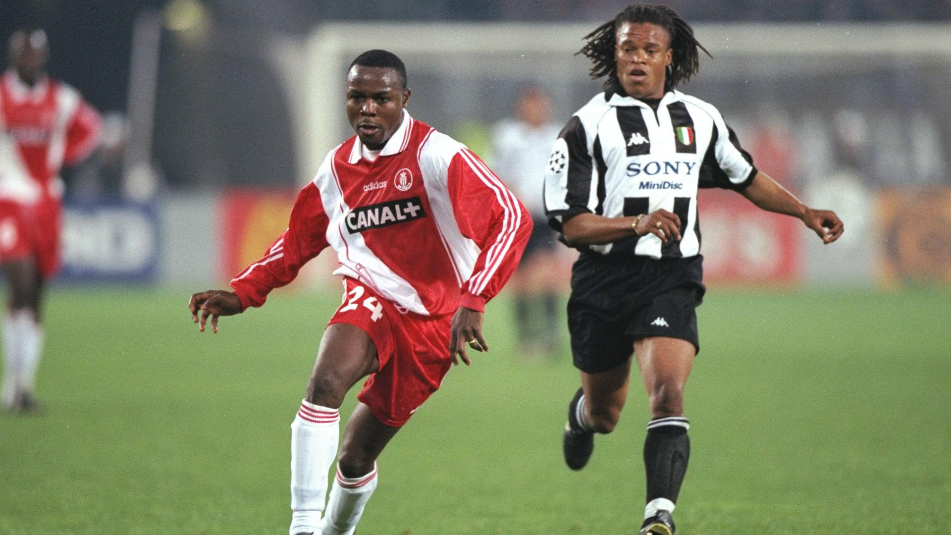 Victor Ikpeba UCL Monaco 98
