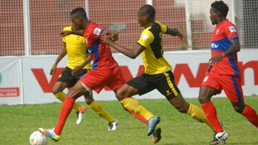 Gbenga Okoro, Ikorodu United vs Godwin Obaje Wikki Toursists