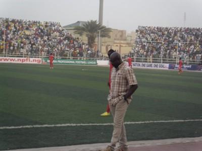 Rangers coach Imama Amakapabo