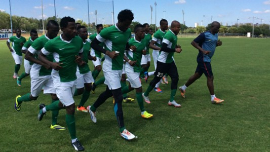 Nigeria Super Eagles in Pretoria camp ahead of CHAN