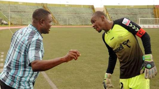 Stanley Eguma and Sunday Rotimi