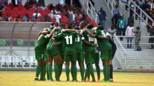 Nigeria huddle for prayers