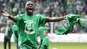 Anthony Ujah of Werder Bremen