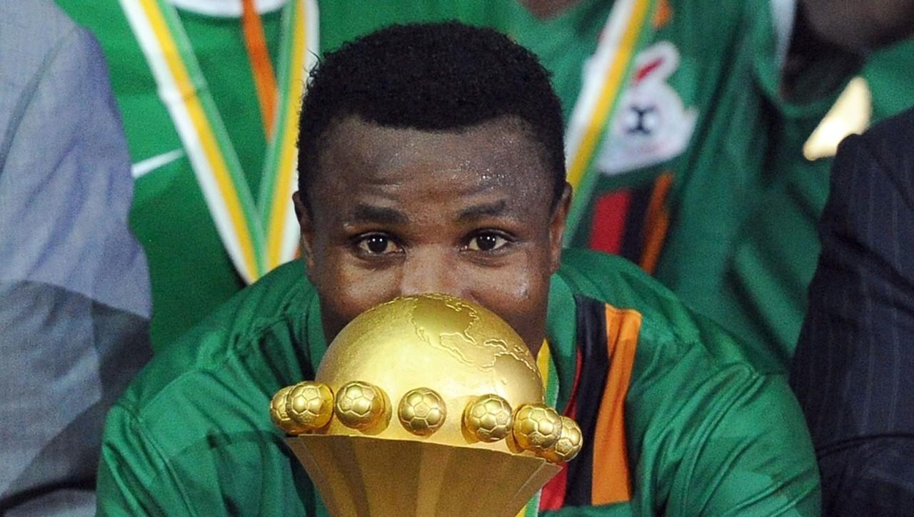Christopher Katongo of Zambia