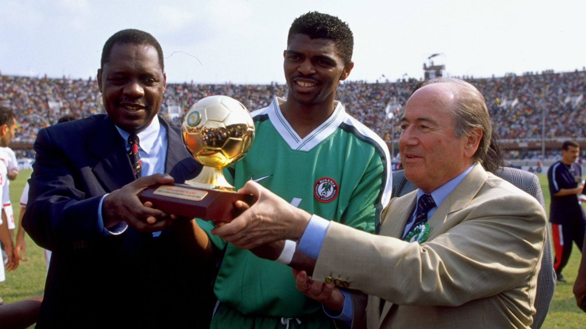 Nwankwo Kanu - African Player of the Year 1999