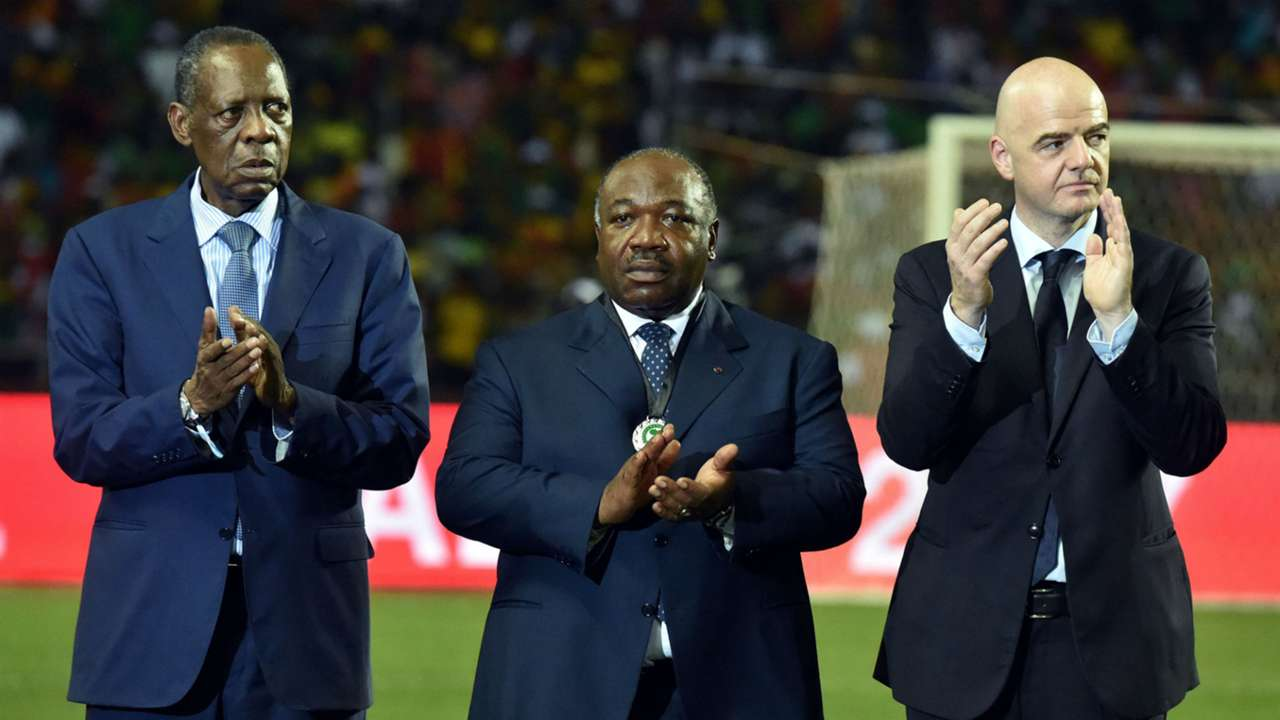 Hayatou and Infantino