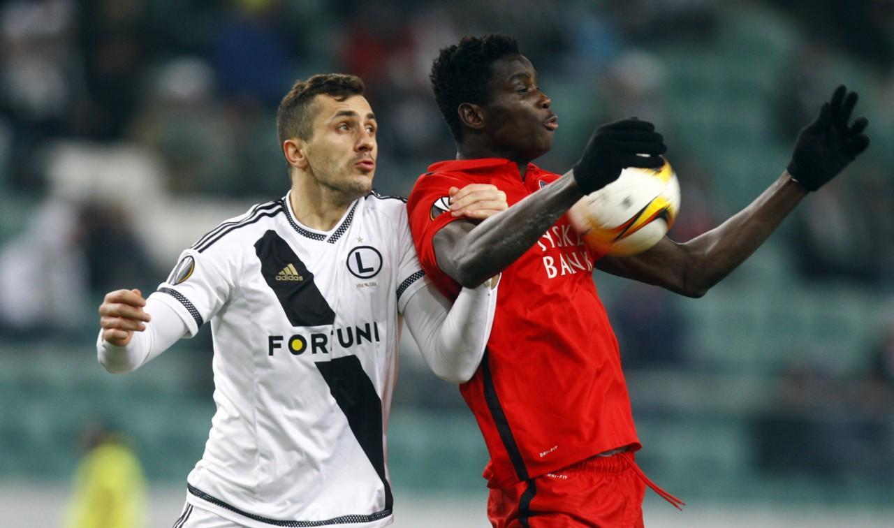 Onuachu's hat-trick powers Midtjylland to top of Danish Superliga