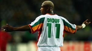 El Hadji Diouf of Senegal