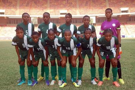 Nigeria U17 women 2016