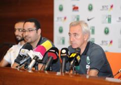 المؤتمر الصحفي لمدرب الأخضر مارفيك قبل مباراة الإمارات