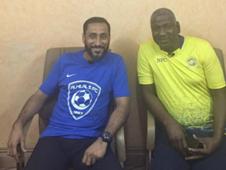 أسطورة النصر ماجد عبد الله والهلالي سامي الجابر