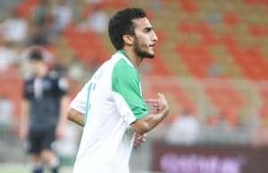 لاعب الأهلي صالح العمري
