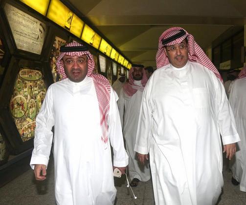 منصور وإبراهيم البلوي ـ الاتحاد