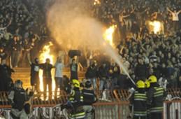 Grobari - Fans of Partizan Belgrade - 145 Darby Against Red Star 2013