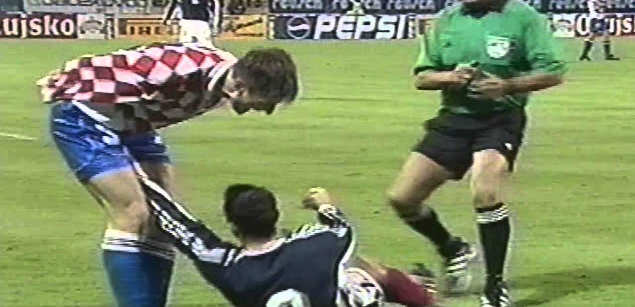 Zoran Mirkovic Serbia VS Robert Jarni Croatia 2000