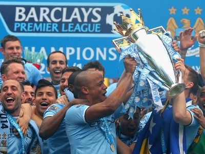Manchester City Premier League champions 11052014