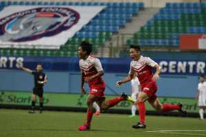 Garena Yong Lions vs Warriors FC 2016 S.League
